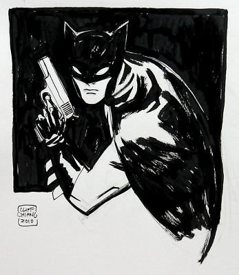 BATMAN BLACK & WHITE #32 : CLIFF CHIANG BATMAN_BY_CLIFF_CHIANG