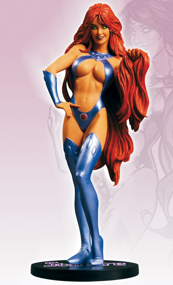 COVER GIRL OF THE DC UNIVERSE : STARFIRE Cover_Girls_Of_The_DC_Universe_Starfire