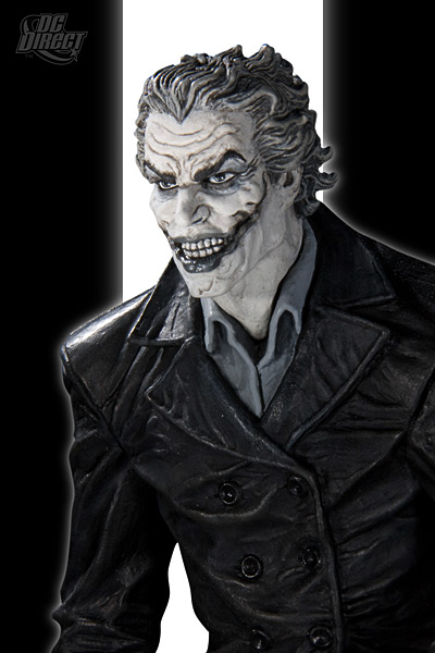 BATMAN BLACK & WHITE VILLAINS #05 : JOKER / LEE BERMEJO Joker_BW