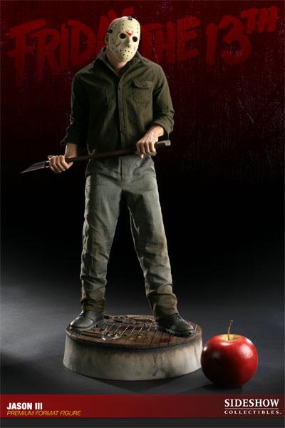 JASON III :'  Friday the 13th ' JASON Premium format Jason-Voorhees-Vendredi-13-Chapitre-3-Sideshow-02