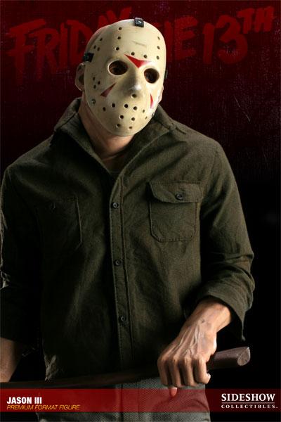 JASON III :'  Friday the 13th ' JASON Premium format Jason-Voorhees-Vendredi-13-Chapitre-3-Sideshow-03