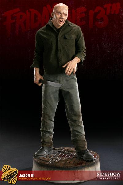 JASON III :'  Friday the 13th ' JASON Premium format Jason-Voorhees-Vendredi-13-Chapitre-3-Sideshow-12