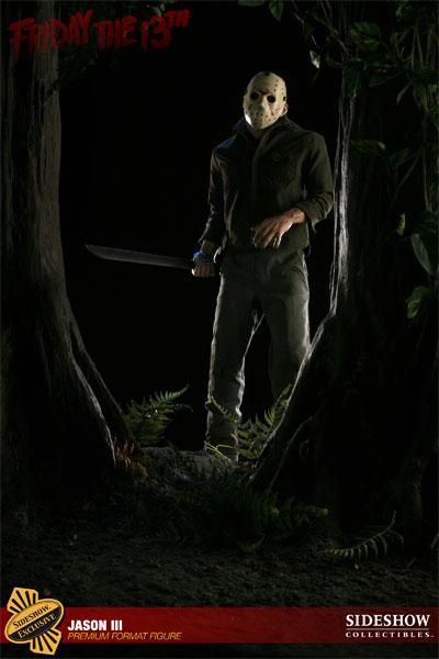 JASON III :'  Friday the 13th ' JASON Premium format Jason-Voorhees-Vendredi-13-Chapitre-3-Sideshow-14