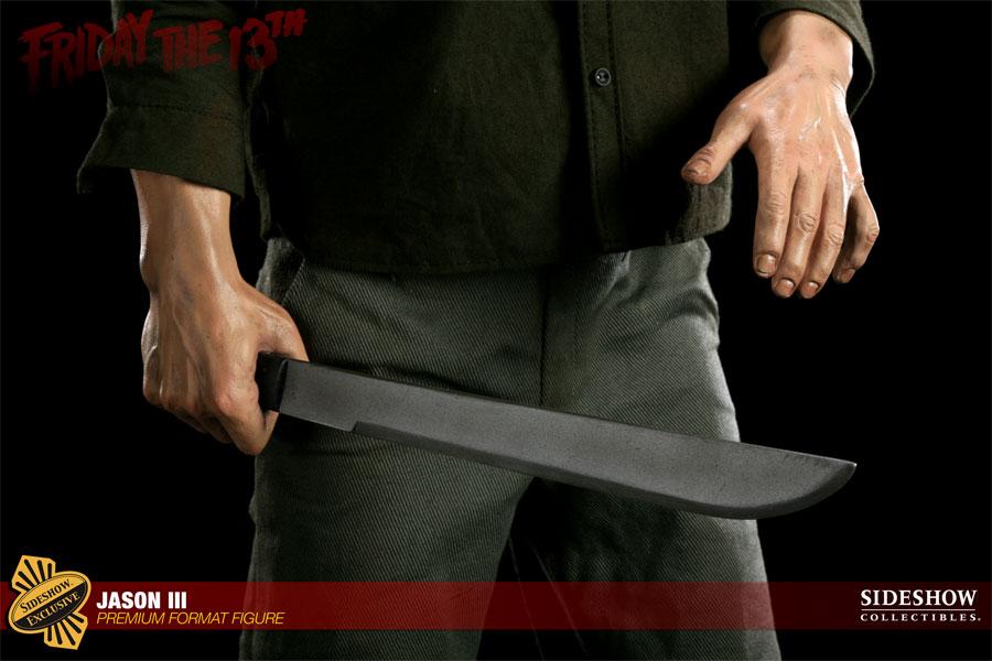 JASON III :'  Friday the 13th ' JASON Premium format Jason-Voorhees-Vendredi-13-Chapitre-3-Sideshow-15