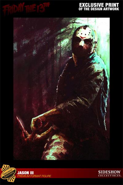 JASON III :'  Friday the 13th ' JASON Premium format Jason-Voorhees-Vendredi-13-Chapitre-3-Sideshow-18