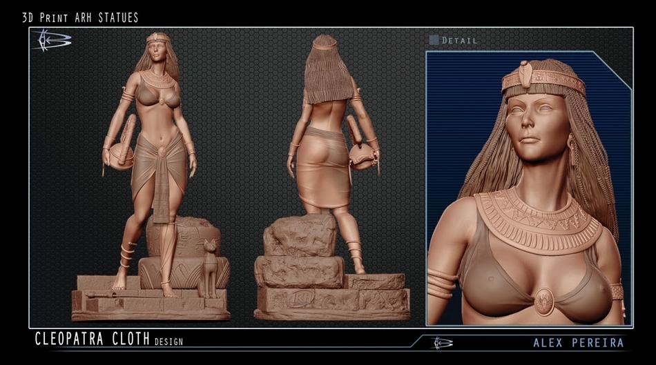 Les Travaux D' Alejandro ( Alex ) Pereira Cleopatra_ARH_alex_peireira_statue__Copier_