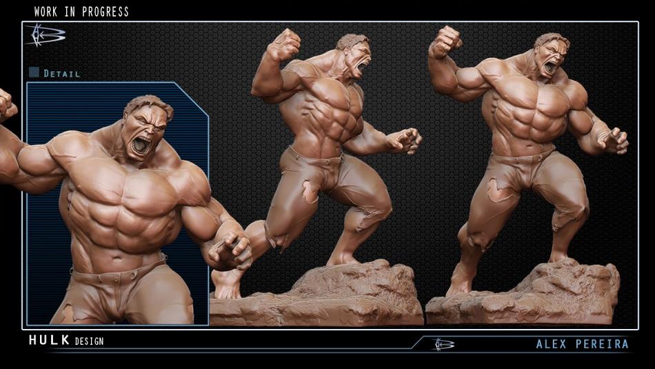 Les Travaux D' Alejandro ( Alex ) Pereira Hulk_Alex_pereira_statue__Copier_