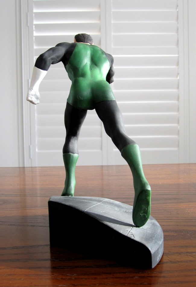 GREEN LANTERN HAL JORDAN STATUE - WILLIAM PAQUET  (1998) - PICS! Green_lantern_hal_jordan_statue_dc_direct_paquet_4