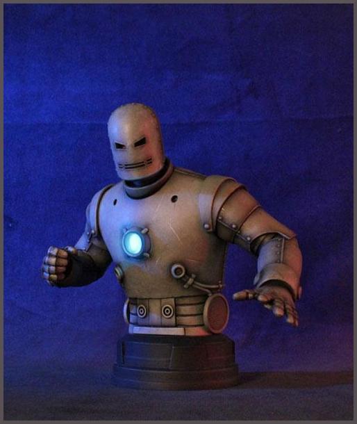 IRON MAN MARK I MINI BUST GENTLE GIANT Iron_Man_Mark_1__mini_bust_gentle_giant__2