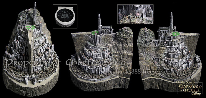 MINAS TIRITH ENVIRONMENT (DVD COLLECTOR BOX SET) MINAS_TIRITH_ENVIRONMENT_WETA.02