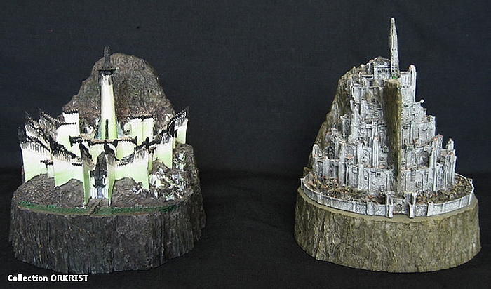 MINAS TIRITH ENVIRONMENT (DVD COLLECTOR BOX SET) MINAS_TIRITH_ENVIRONMENT_WETA.05