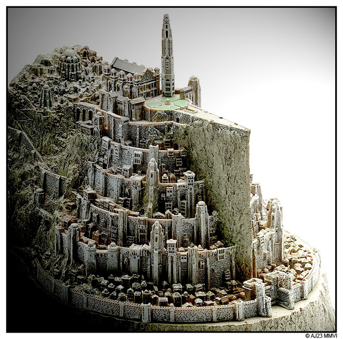 MINAS TIRITH ENVIRONMENT (DVD COLLECTOR BOX SET) MINAS_TIRITH_ENVIRONMENT_WETA.13