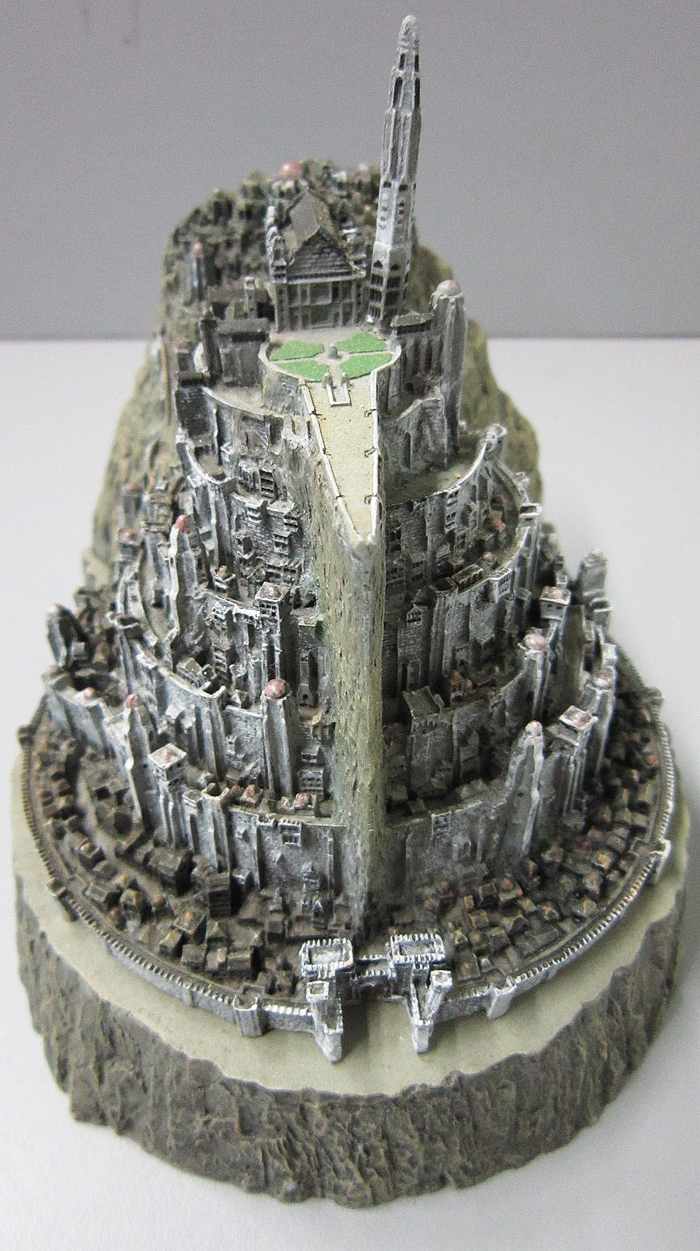 MINAS TIRITH ENVIRONMENT (DVD COLLECTOR BOX SET) MINAS_TIRITH_ENVIRONMENT_WETA.15