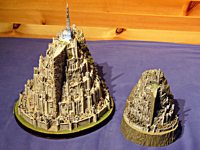 MINAS TIRITH ENVIRONMENT (DVD COLLECTOR BOX SET) MINAS_TIRITH_ENVIRONMENT_WETA.26