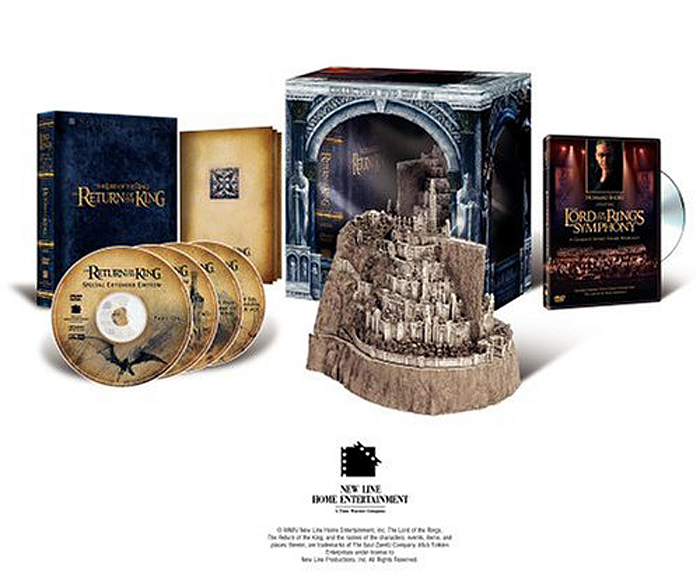 MINAS TIRITH ENVIRONMENT (DVD COLLECTOR BOX SET) MINAS_TIRITH_ENVIRONMENT_WETA.27