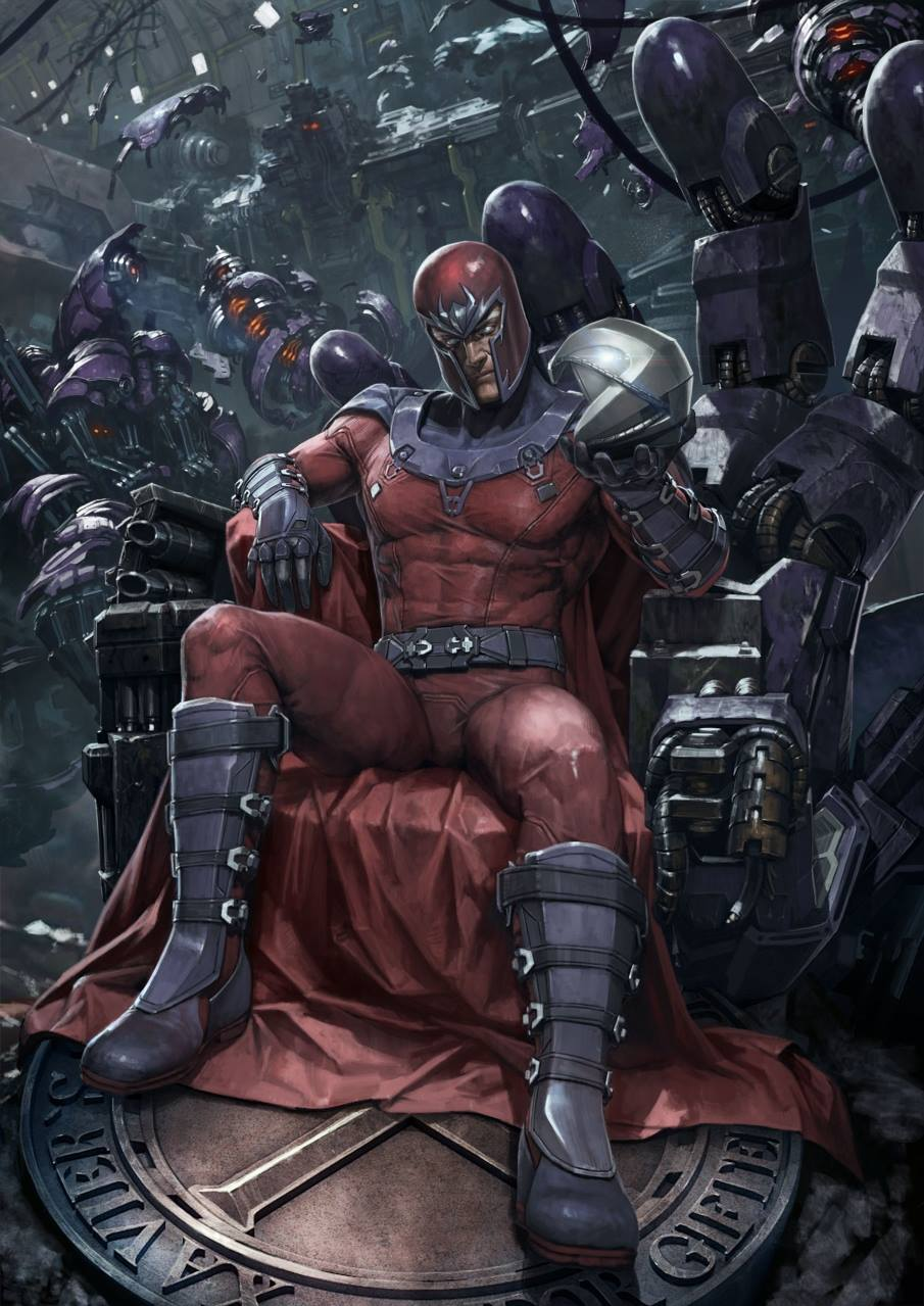 Premium Collectibles : Magneto on Sentinel Throne - Page 3 Magneto_art_xm_studios