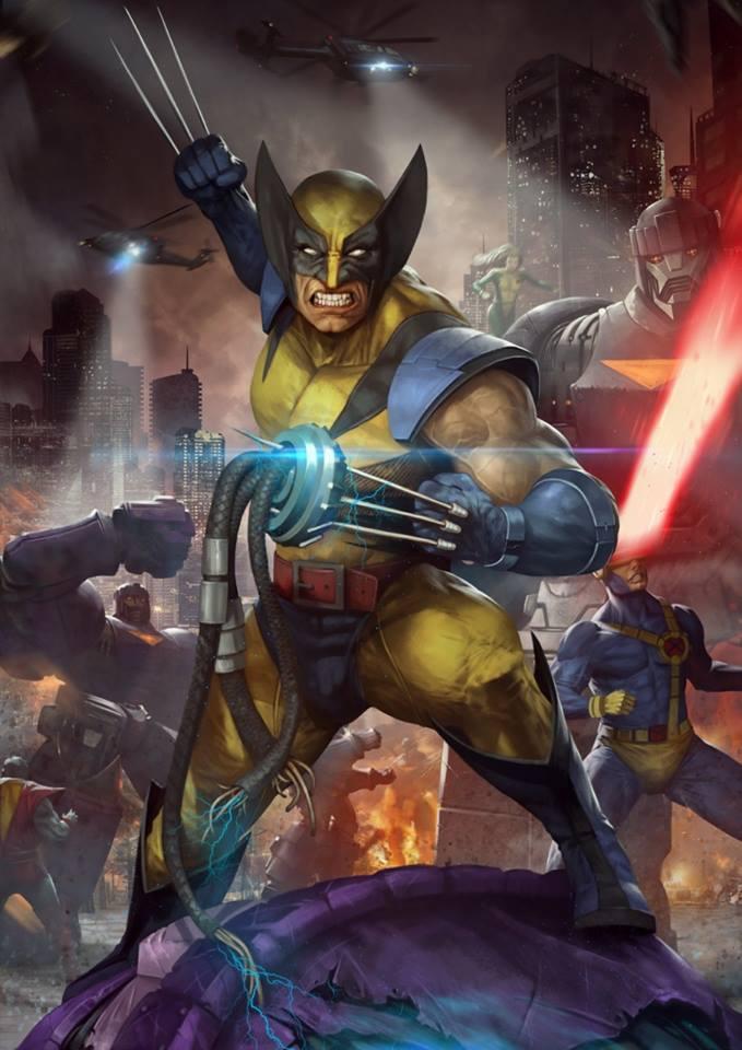 Premium Collectibles : Wolverine - Comics Version Wolverine_art_xm_studios