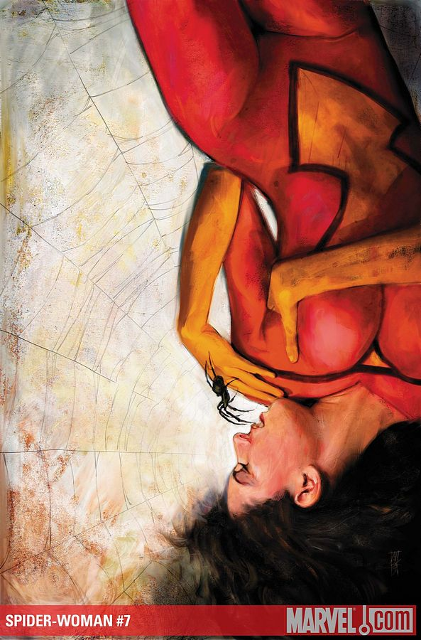L'artiste cover Marvel du mois 108_spider_woman_7_02_alex_maleev_