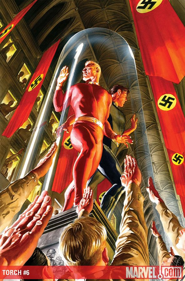 L'artiste cover Marvel du mois 120_torch_02_Alex_ross