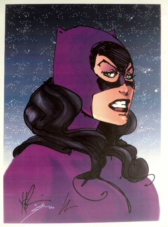 GREEN GALLERY Howard_Chaykin_Catwoman_art_prints_-_SIGNED___