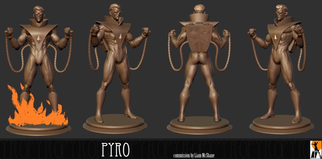 Les travaux de AY sculpture Pyro_AY_sculpt