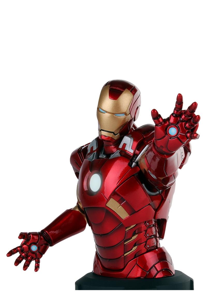 IRON MAN DELUXE MARK VII MINI BUST GENTLE GIANT Avengers_Iron_Man_Deluxe_mark_VII_Mini_Bust__01__Copier___2_