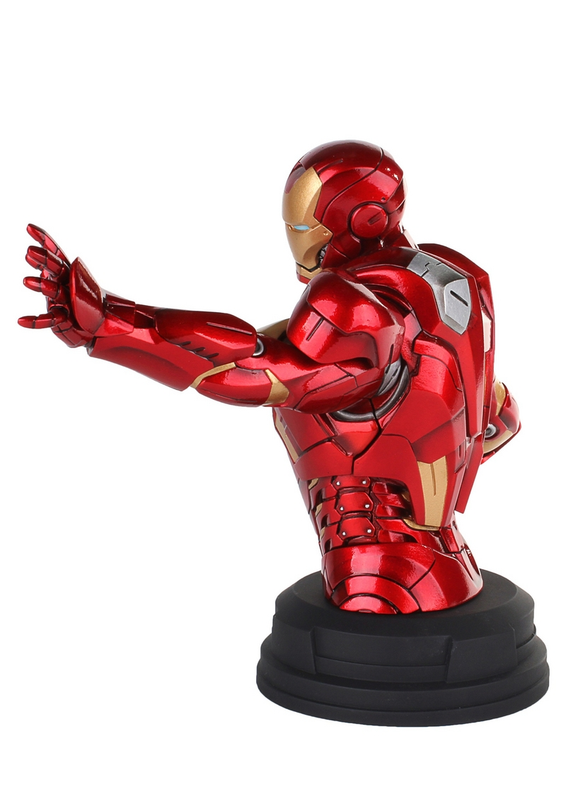 IRON MAN DELUXE MARK VII MINI BUST GENTLE GIANT Avengers_Iron_Man_Deluxe_mark_VII_Mini_Bust__03__Copier_