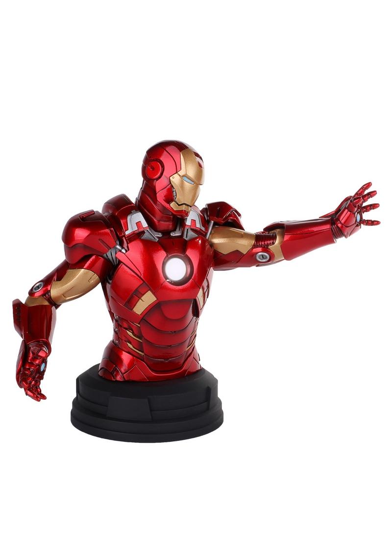 IRON MAN DELUXE MARK VII MINI BUST GENTLE GIANT Avengers_Iron_Man_Deluxe_mark_VII_Mini_Bust__04__Copier_