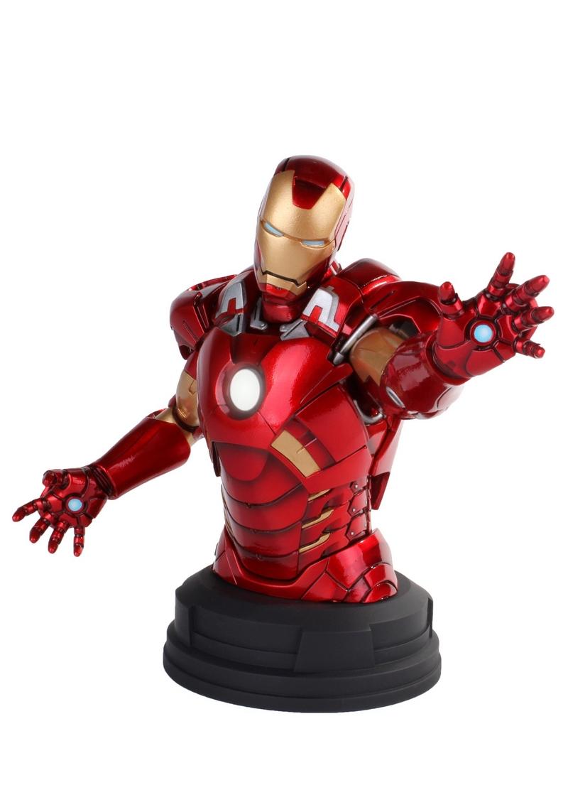 IRON MAN DELUXE MARK VII MINI BUST GENTLE GIANT Avengers_Iron_Man_Deluxe_mark_VII_Mini_Bust__05__Copier_