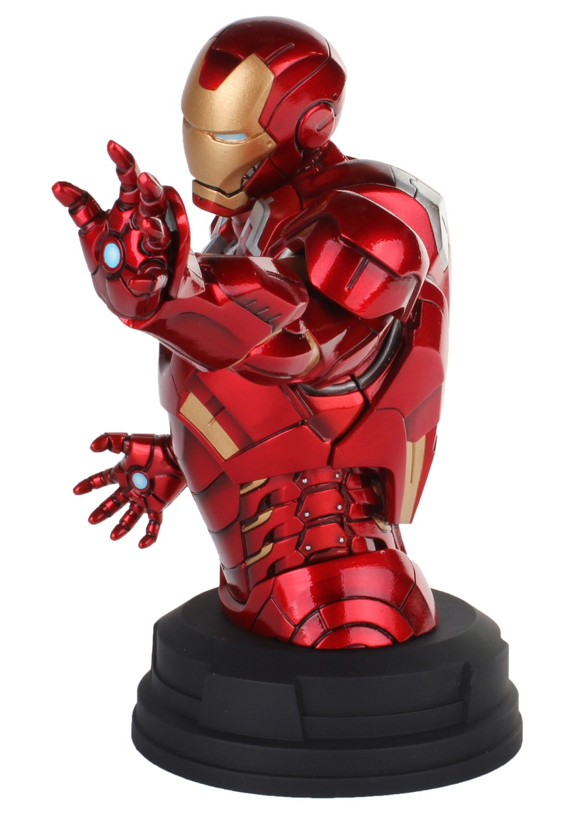 IRON MAN DELUXE MARK VII MINI BUST GENTLE GIANT Avengers_Iron_Man_Deluxe_mark_VII_Mini_Bust__06__Copier_