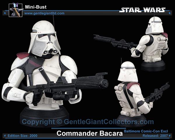 STAR WARS: COMMANDER BACARA ROTS MINI BUST COMMANDER_BACARA_GENTLE_GIANT_MINI_BUST_04
