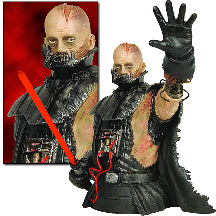 STAR WARS: DARTH VADER THE FORCE UNLEASHED MINI BUST DARTH_VADER_FORCE_UNLEASHED_BUST_01