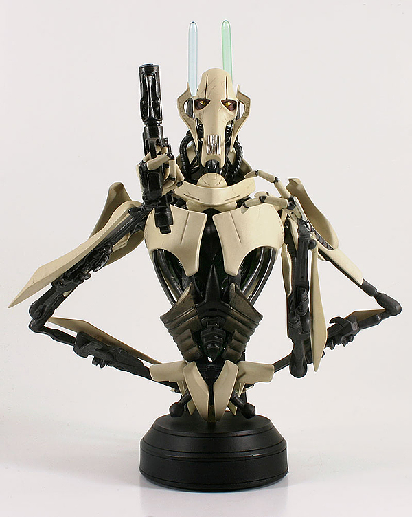 STAR WARS: GENERAL GRIEVOUS AOTC MINI BUST GENERAL_GRIEVOUS_GENTLE_GIANT_MINI_BUST_01