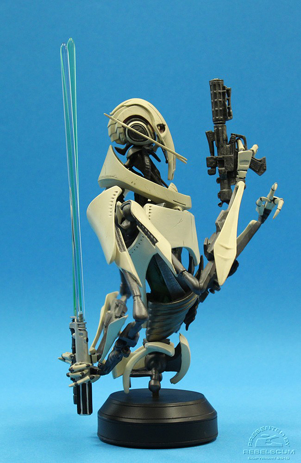 STAR WARS: GENERAL GRIEVOUS AOTC MINI BUST GENERAL_GRIEVOUS_GENTLE_GIANT_MINI_BUST_03