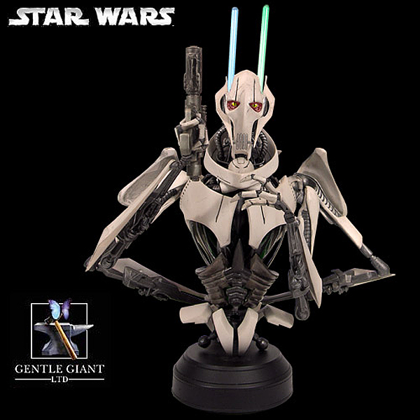 STAR WARS: GENERAL GRIEVOUS AOTC MINI BUST GENERAL_GRIEVOUS_GENTLE_GIANT_MINI_BUST_04
