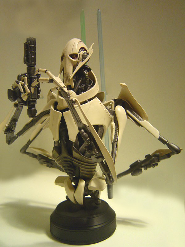 STAR WARS: GENERAL GRIEVOUS AOTC MINI BUST GENERAL_GRIEVOUS_GENTLE_GIANT_MINI_BUST_06