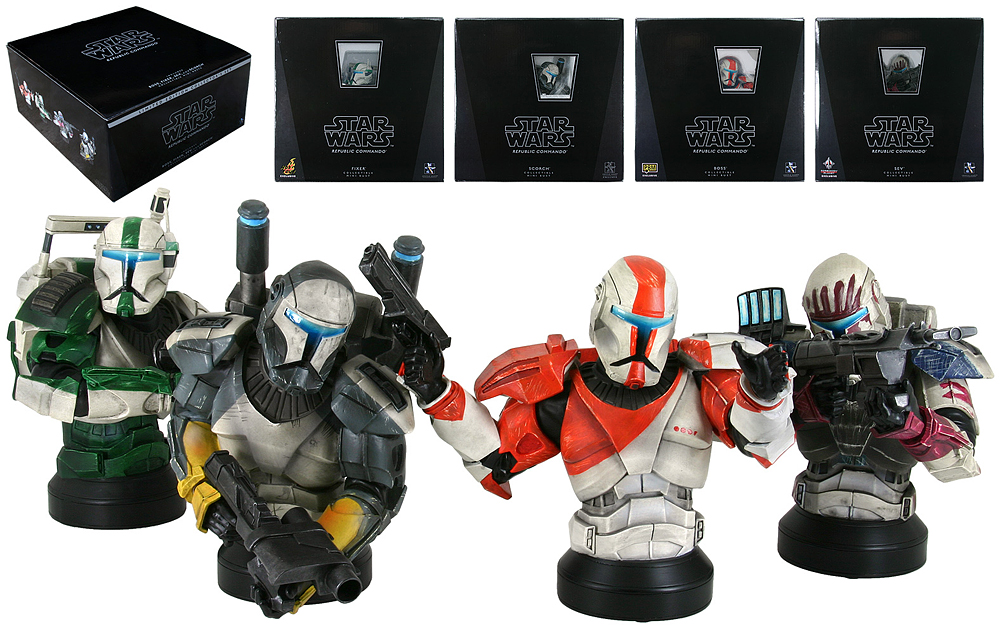 STAR WARS: REPUBLIC COMMANDO COLLECTOR'S SET MINI BUST GENTLE_GIANT_REPUBLIC_COMMANDO_SET_MINI_BUSTS_02