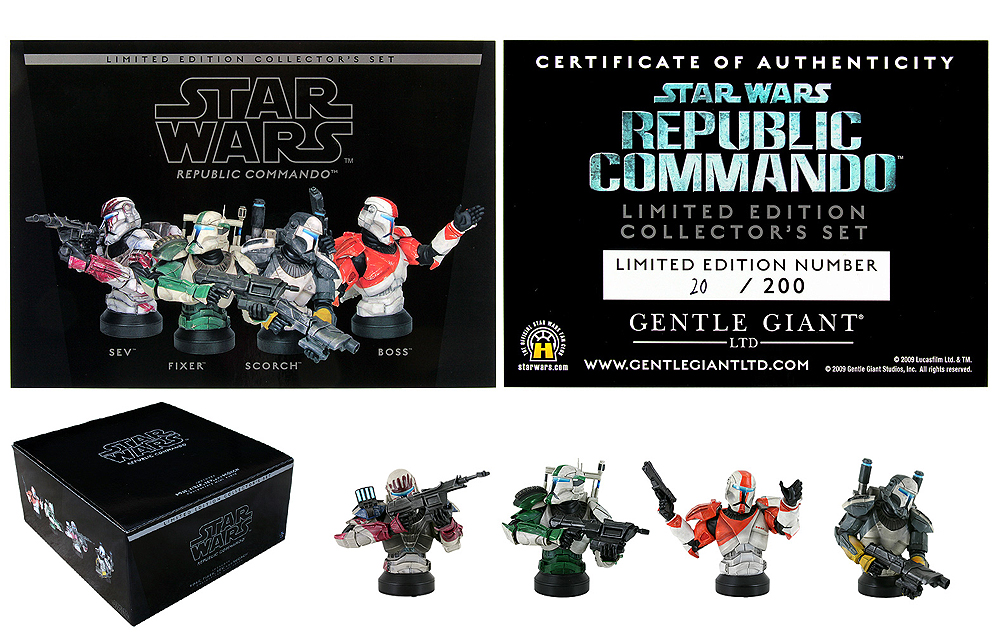 STAR WARS: REPUBLIC COMMANDO COLLECTOR'S SET MINI BUST GENTLE_GIANT_REPUBLIC_COMMANDO_SET_MINI_BUSTS_03