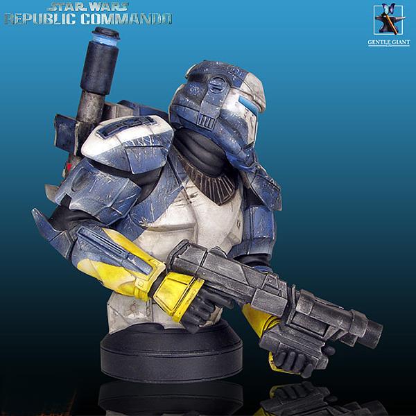 STAR WARS: REPUBLIC COMMANDO SCORCH MINI BUST Gentle_Giant_Republic_Commando_Scorch_Mini_Bust_02