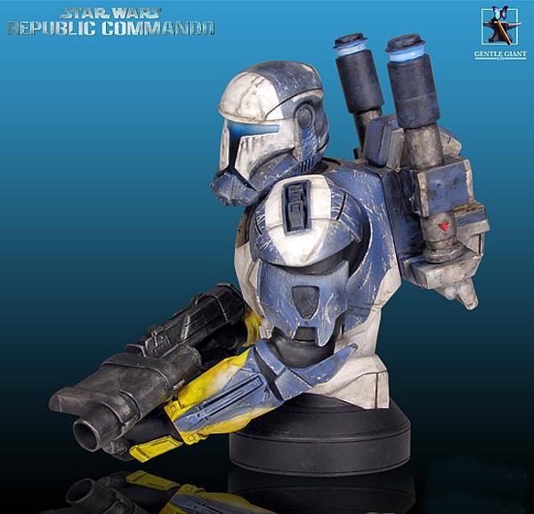 STAR WARS: REPUBLIC COMMANDO SCORCH MINI BUST Gentle_Giant_Republic_Commando_Scorch_Mini_Bust_03
