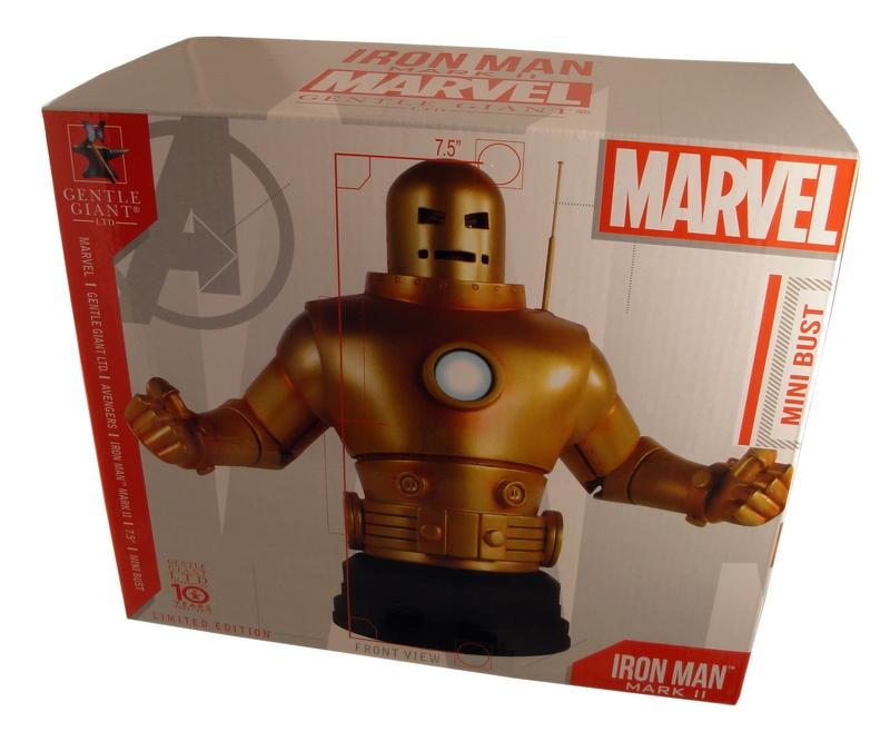 IRON- MAN  MARK II GOLD ARMOR MINI BUST GENTLE GIANT IRON-_MAN__MARK_II_GOLD_ARMOR_MINI_BUST_GENTLE_GIANT_08__Copier_
