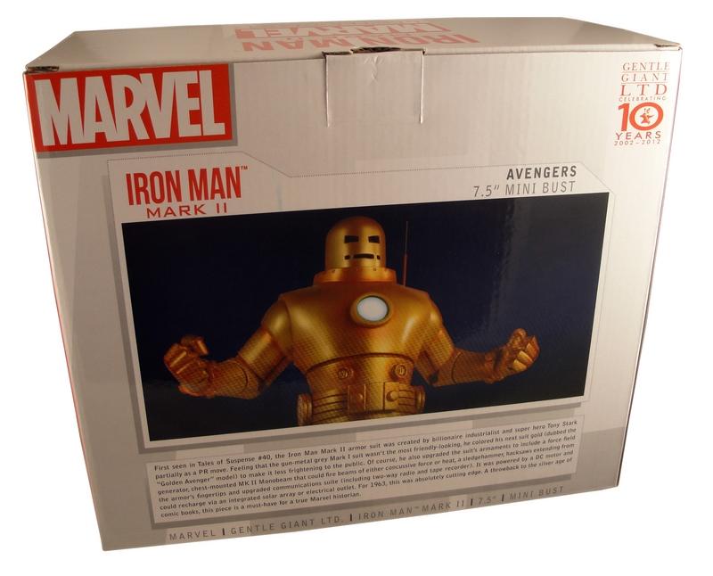IRON- MAN  MARK II GOLD ARMOR MINI BUST GENTLE GIANT IRON-_MAN__MARK_II_GOLD_ARMOR_MINI_BUST_GENTLE_GIANT_09__Copier_