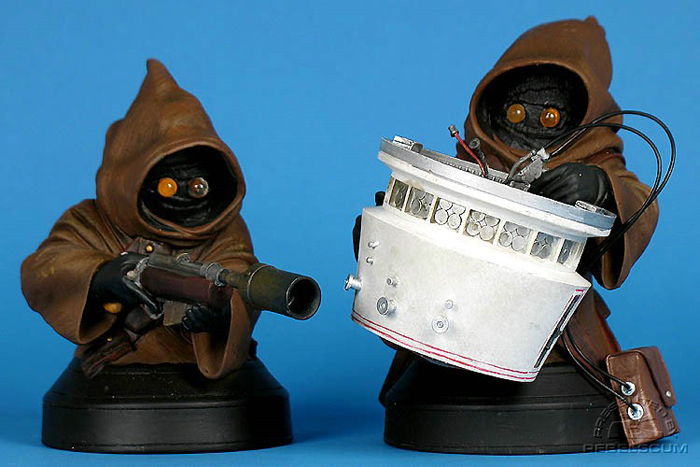 STAR WARS: JAWAS ANH MINI BUSTS JAWAS_ANH_GENTLE_GIANT_MINI_BUST_01