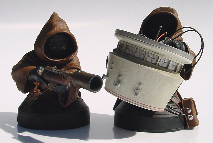 STAR WARS: JAWAS ANH MINI BUSTS JAWAS_ANH_GENTLE_GIANT_MINI_BUST_09