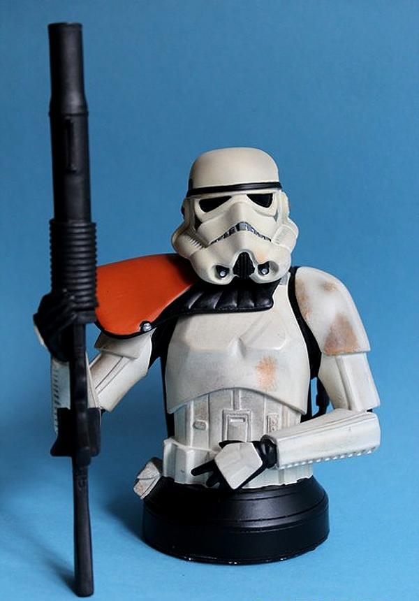 STAR WARS: SANDTROOPER SQUAD LEADER ANH  MINI BUST SANDTROOPER_SQUAD_LEADER_GENTLE_GIANT_MINI_BUST_02