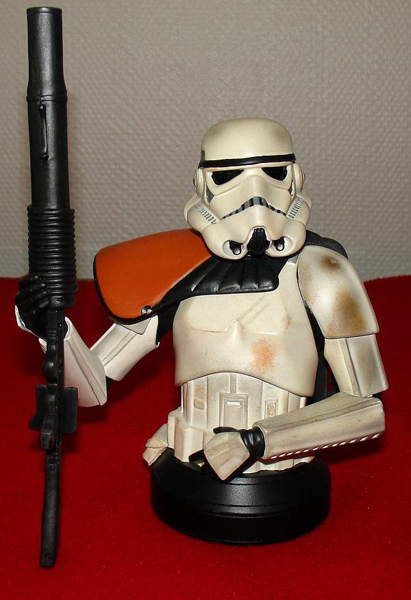 STAR WARS: SANDTROOPER SQUAD LEADER ANH  MINI BUST SANDTROOPER_SQUAD_LEADER_GENTLE_GIANT_MINI_BUST_04