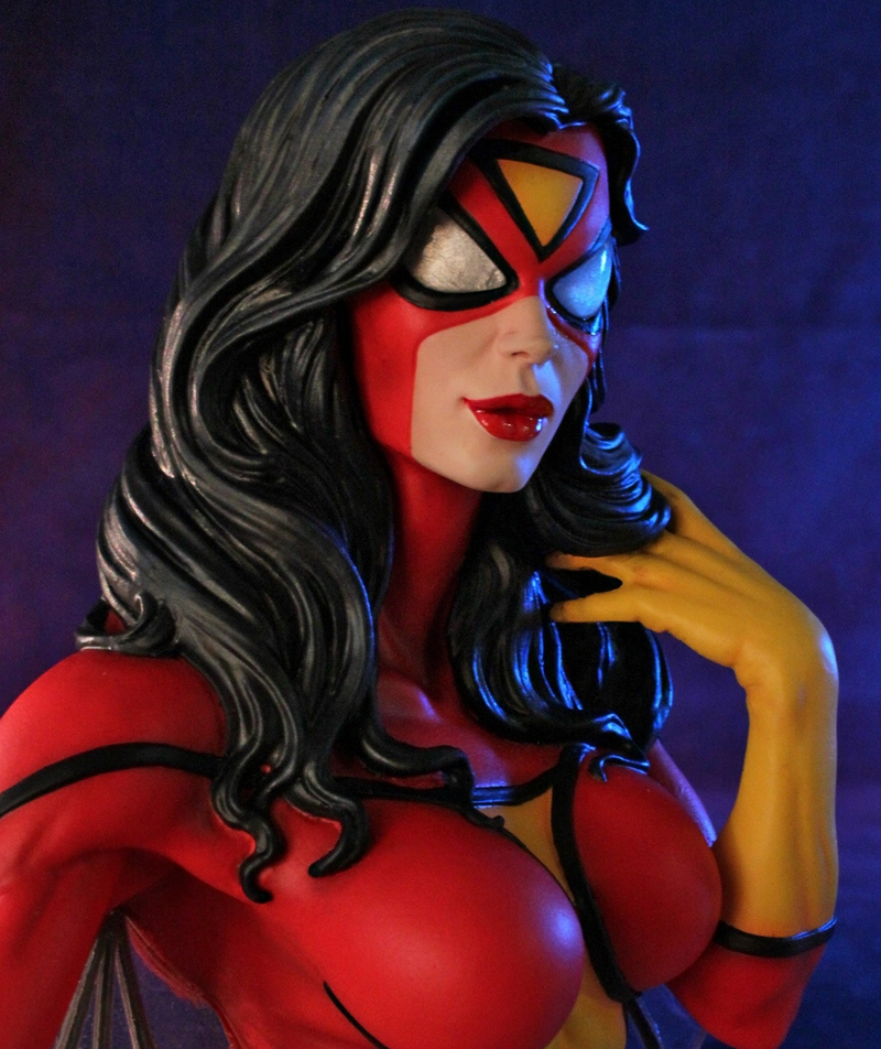 SPIDER-WOMAN MINI BUST GENTLE GIANT SPIDER-WOMAN_MINI_BUST_GENTLE_GIANT_008__Copier_