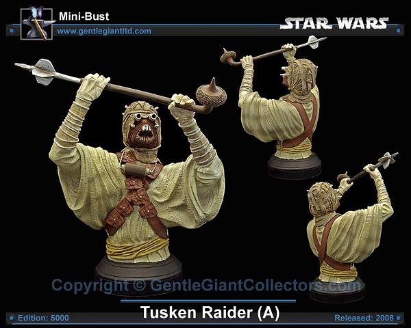 STAR WARS: TUSKEN RAIDER ANH MINI BUST TUSKEN_RAIDER_GENTLE_GIANT_MINI_BUST_05