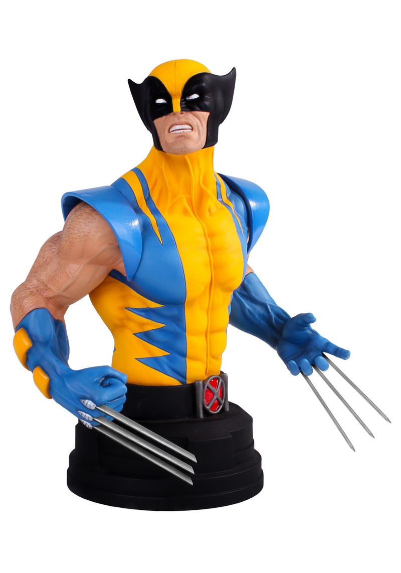 WOLVERINE YELLOW AND BLUE MINI BUST Wolverine-yellow-and-blue-gentle_giant_mini-bust_01__Copier_