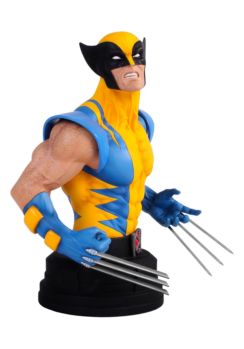 WOLVERINE YELLOW AND BLUE MINI BUST Wolverine-yellow-and-blue-gentle_giant_mini-bust_02__Copier_